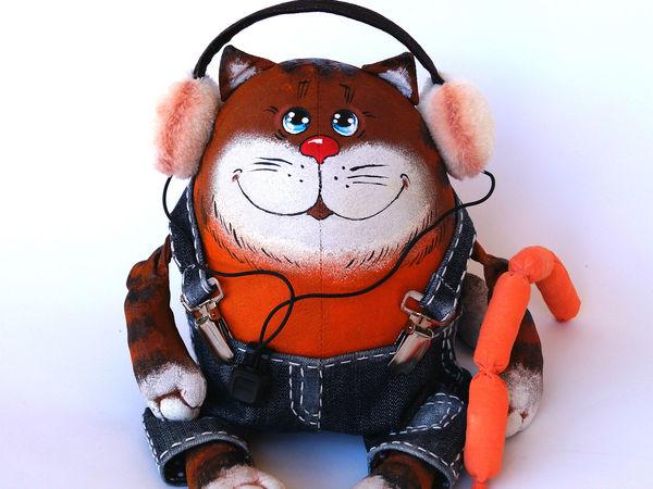 Мастер-класс: кот из мультфильма