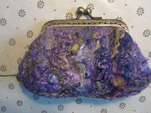 Изготовление сумочки на фермуаре | Ярмарка Мастеров - ручная работа, handmade