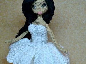 """Вариант оформления куколки по МК """"Основа кукольного тела"""". Ярмарка Мастеров - ручная работа, handmade."""