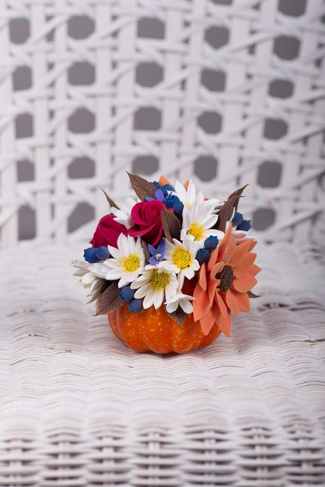 осень, ромашки, цветы, новинка, подарок