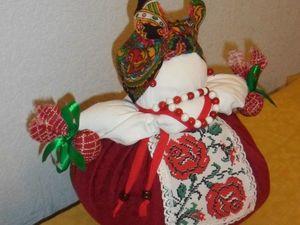 Кукла Кубышка-травница. Сделаю на заказ. Ярмарка Мастеров - ручная работа, handmade.