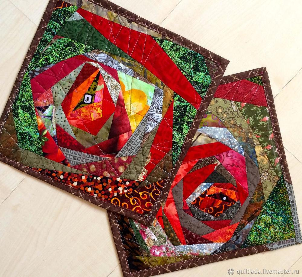 Как сделать новогодний подарок? Текстильный ланчмат своими руками, часть 4, фото № 1