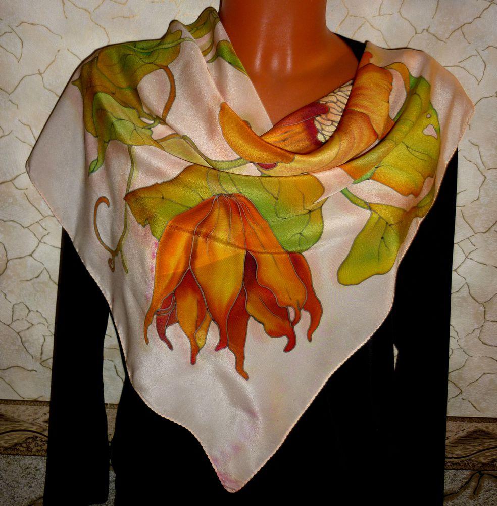 платок шелковый