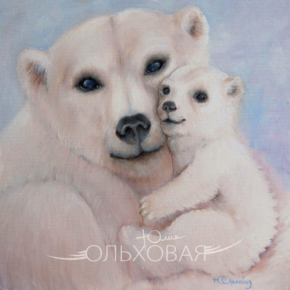 картина в подарок, снег, любовь