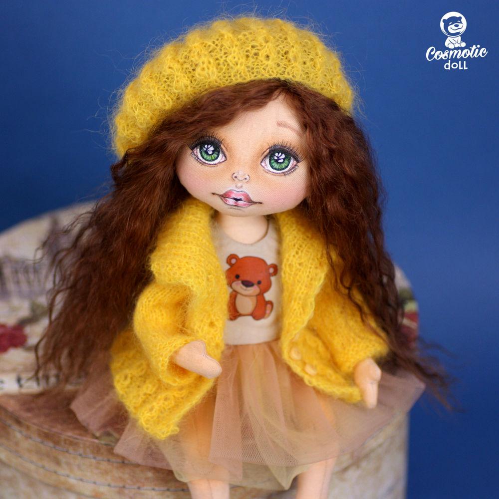 текстильная кукла купить, кукла девушке