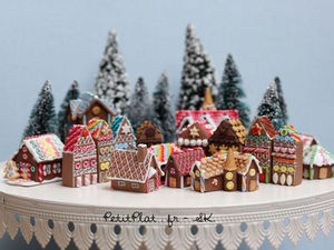 Мини Новый год: фото-подборка миниатюрного декора | Ярмарка Мастеров - ручная работа, handmade
