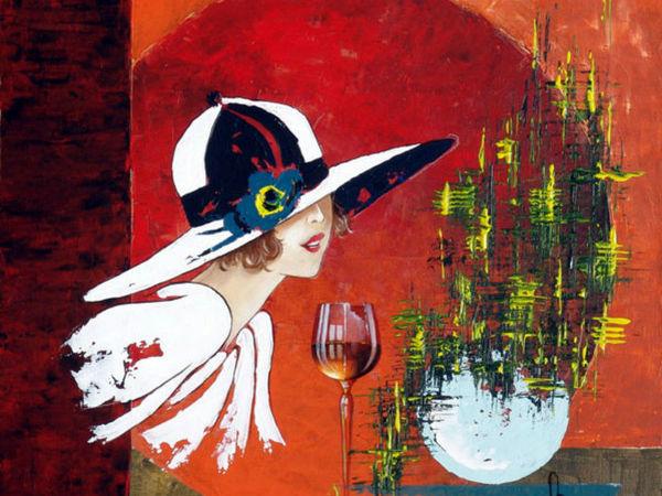 Великолепные элегантные дамы в стиле ретро от Francois Lassere | Ярмарка Мастеров - ручная работа, handmade