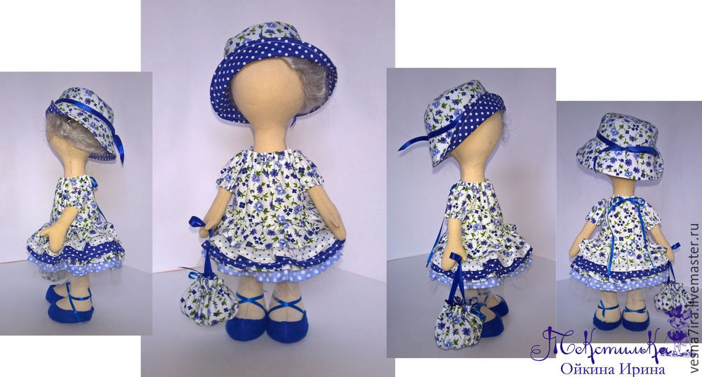 Шьем комплект одежды для куклы-большеножки. Часть 4 - Ярмарка Мастеров - ручная работа, handmade