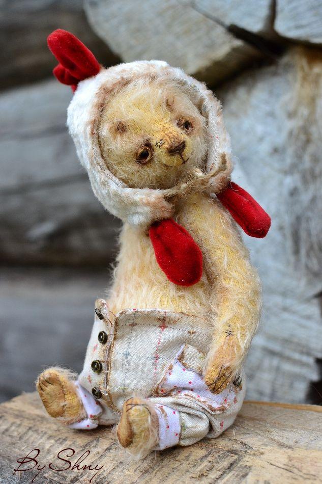 мохеровый мишка
