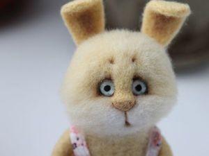 Аукцион на зайчика с 15.10. по 17.10!!!. Ярмарка Мастеров - ручная работа, handmade.
