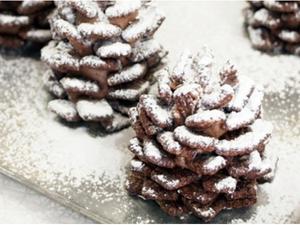 Новогодние шоколадные шишки: мастер-класс.. Ярмарка Мастеров - ручная работа, handmade.