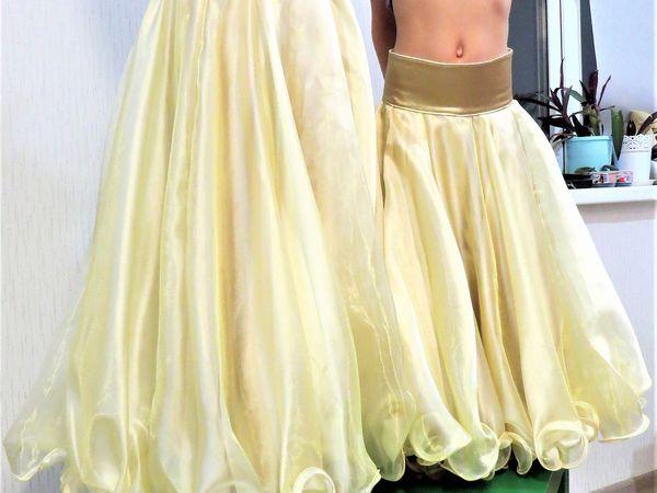 Шьем интересную юбку на девочку для восточных танцев