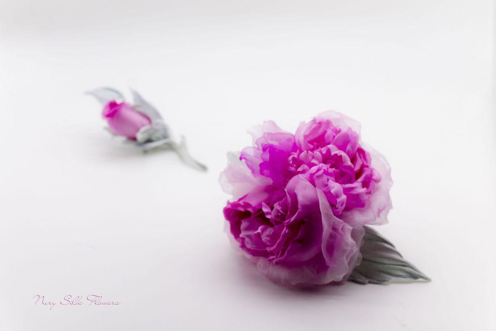 цветок-брошь, брошь-цветок