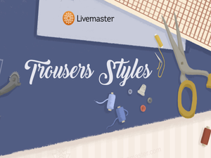 Trousers Styles Guide from Livemaster. Livemaster - handmade