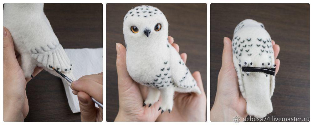 "Tala de un árbol de Navidad de juguete ""White Polar Owl"", foto # 18"
