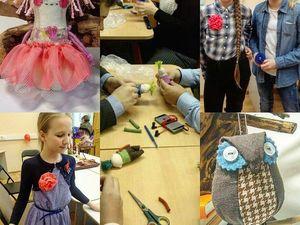Открыт набор в кружок «Текстильная мозаика» для детей от 9 лет. Ярмарка Мастеров - ручная работа, handmade.