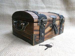 СКИДКА на все сундучки из массива сосны 500 р. Ярмарка Мастеров - ручная работа, handmade.