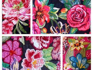 Райские сады бразильской вышивки. Ярмарка Мастеров - ручная работа, handmade.