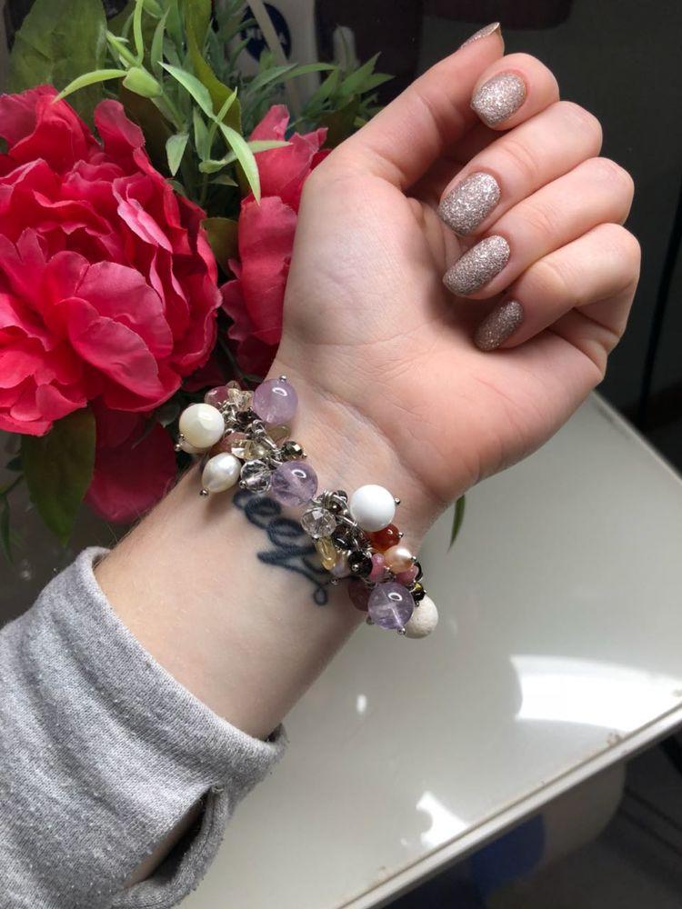 Авторские украшения из жемчуга и натуральных камней своими руками, фото № 21