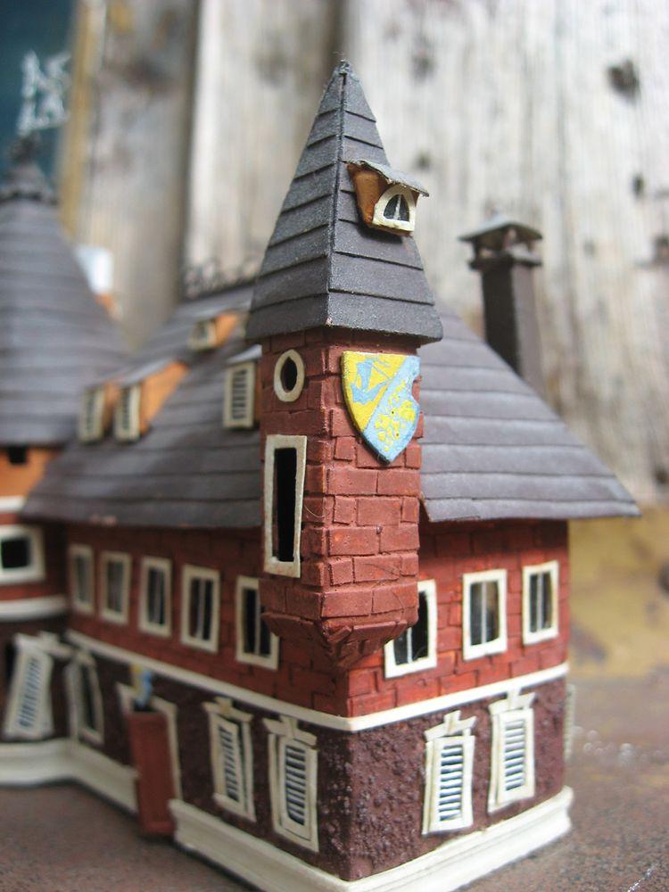 макет дома, бумажный домик