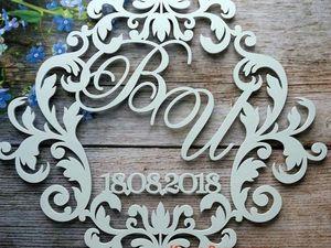 Подарок!Свадебная подставка для колец!. Ярмарка Мастеров - ручная работа, handmade.
