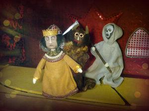 Моя большая поздняя любовь, или почему детям необходим домашний театр.. Ярмарка Мастеров - ручная работа, handmade.
