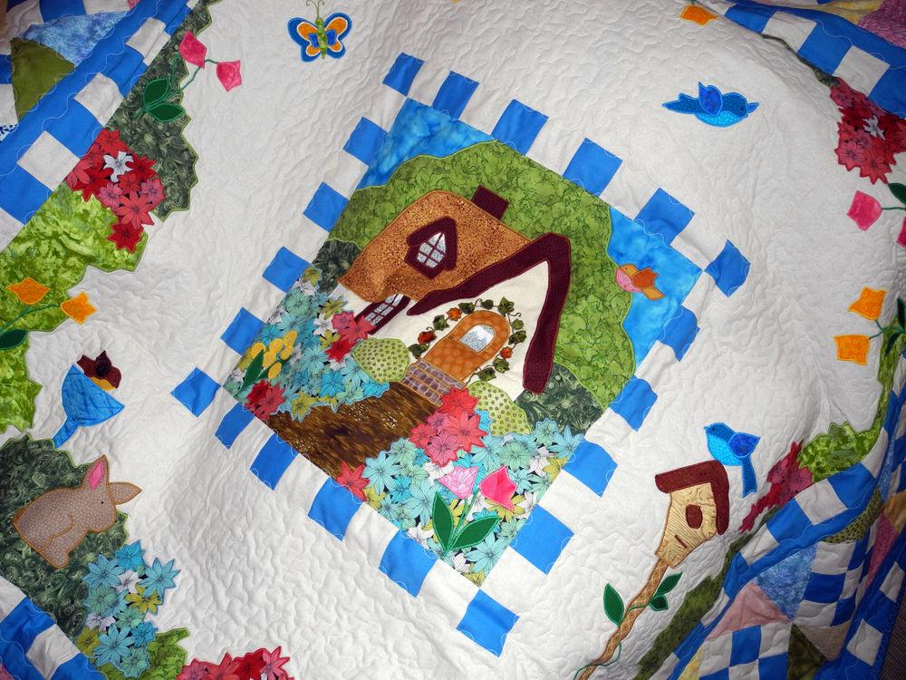 лоскутная подушка, купить лоскутное одеяло