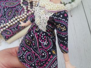 История кукольных нарядов. Ярмарка Мастеров - ручная работа, handmade.