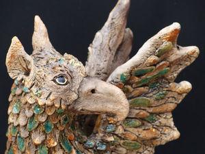 Грифон - звериный принц.. Ярмарка Мастеров - ручная работа, handmade.