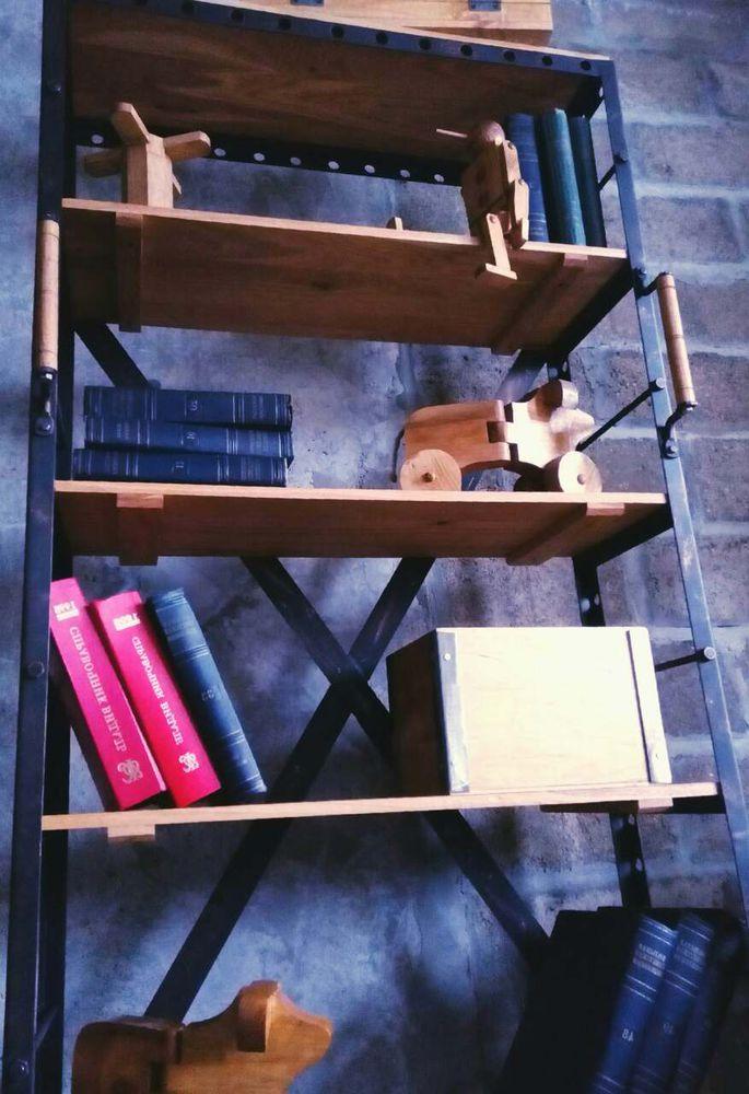 стеллаж лофт, этажерка в стиле лофт, производство стеллажей, лофт