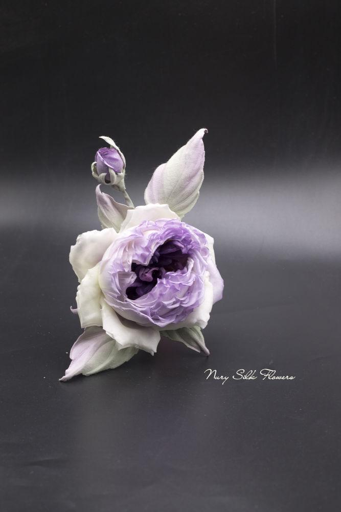 роза из шёлка