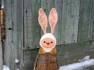 Новый зайка ищет дом!. Ярмарка Мастеров - ручная работа, handmade.