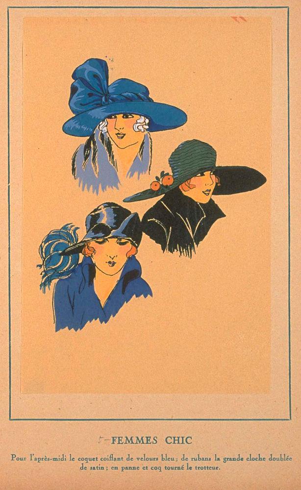 Ах, какие шляпки! Шляпная мода 1922 года по версии французского журнала «Les chapeaux du Tres parisien». Часть 2, фото № 26