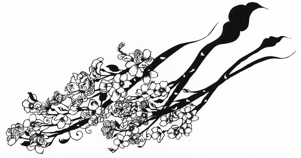1 510 Бумажные кружева Хины Аоямы
