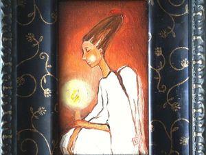 Кому счастье?Новый ангелочек : Я за тебя молюсь..АУКЦИОН закрыт!. Ярмарка Мастеров - ручная работа, handmade.