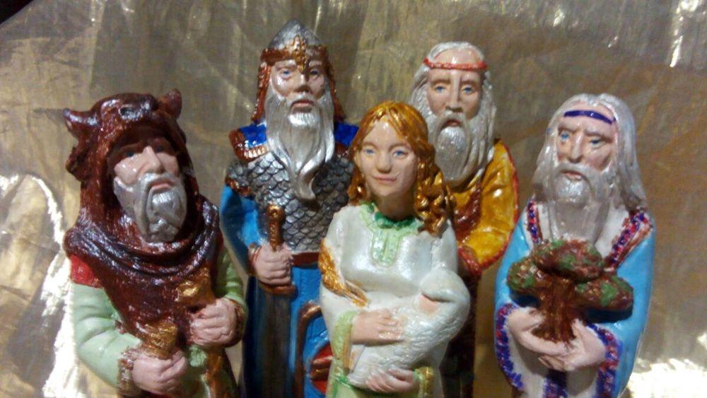 русские боги, статуя велес, смтатуя род