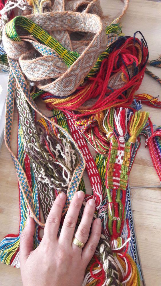 ткачество на дощечках