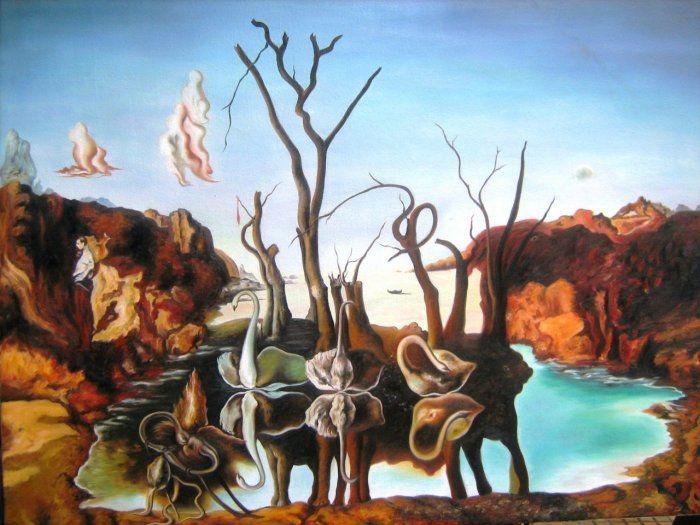 День рождения гениального художника, сюрреалиста Сальвадора Дали., фото № 7