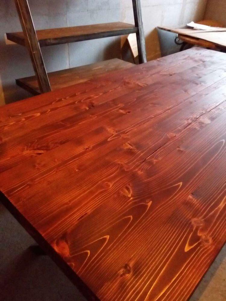 мебель в стиле лофт, масло осмо, способ покрытия, производство