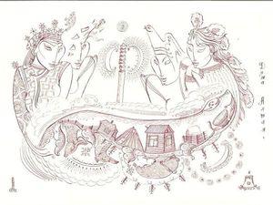 Новые работы художника Николая Чепокова (Таракая). Ярмарка Мастеров - ручная работа, handmade.