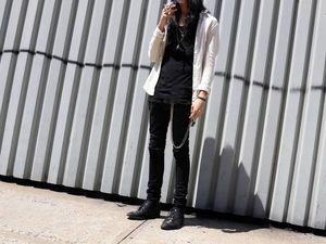 Руководство по стилю: черные джинсы. Ярмарка Мастеров - ручная работа, handmade.