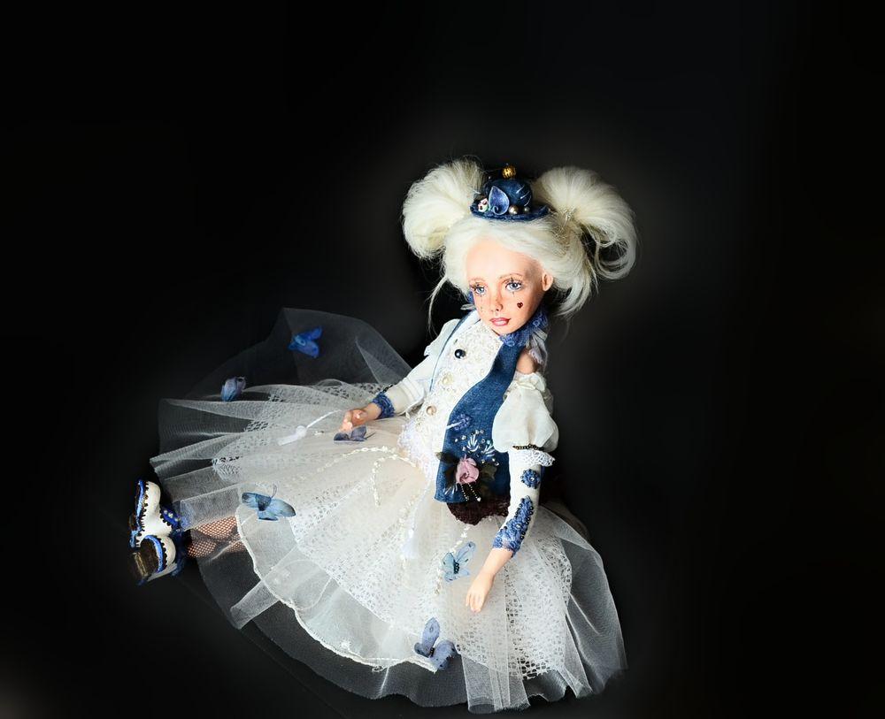 интерьерная кукла, коллекционная кукла