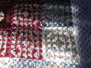 Аукцион! Плед Бабушкин квадрат. Ярмарка Мастеров - ручная работа, handmade.