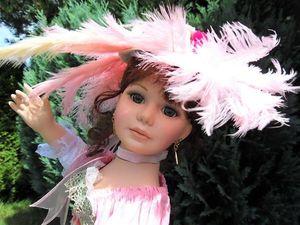 Вальс цветов. Коллекционная фарфоровая кукла   Ярмарка Мастеров - ручная работа, handmade