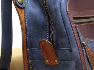 Ура!! Я сшила себе рюкзак!:). Ярмарка Мастеров - ручная работа, handmade.