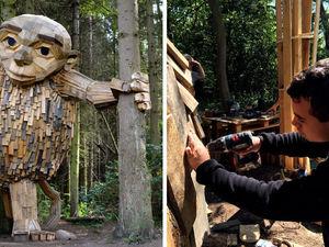 «Шесть спрятанных гигантов» датского скульптора Thomas Dambo. Ярмарка Мастеров - ручная работа, handmade.