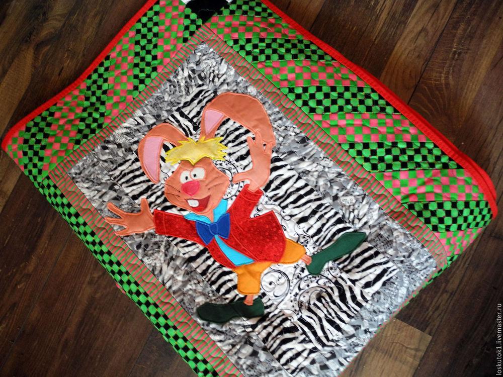 детское лоскутное одеяло, одеяло детское, плед в подарок