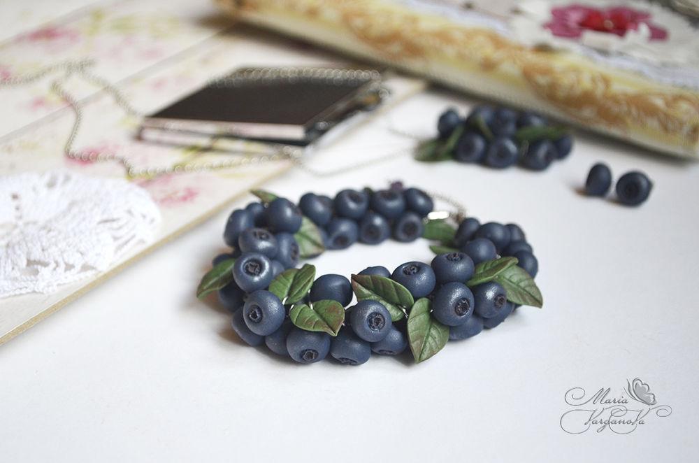 мастер класс москва, лепка из полимерной глины, лепка ягод, ягодный браслет, лепка из пластики, раменское