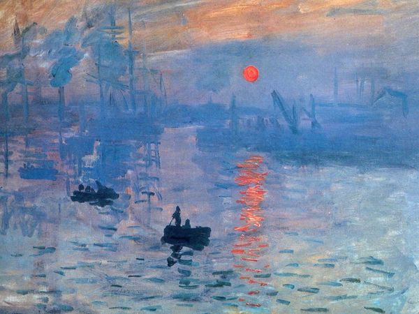 Воркшоп по живописи «Клод Моне. Впечатление. Восходящее солнце» | Ярмарка Мастеров - ручная работа, handmade