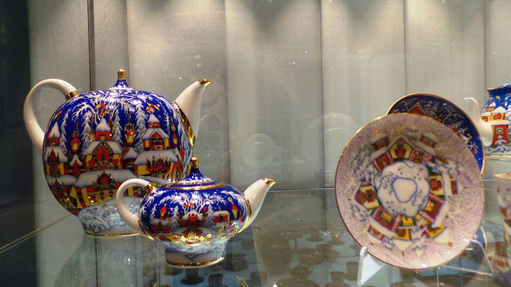 керамика, керамическая посуда, музей керамики, роспись по фарфору, выставка фарфора, коллекционный фарфор